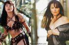 Lucy Lawless la Famosa Xena la Guerrera Desnuda