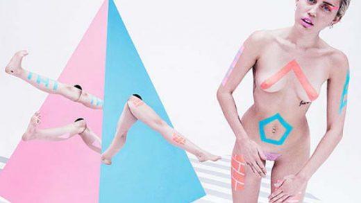 Miley-Cyrus-Artistic-Topless- famosas xxx - videos xxx -fotos porno (5)