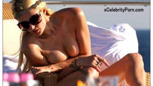 Fotos de Paris Hilton Desnuda en su Yate - Filtradas-tomando-sol-tetas-fotos-filtradas-xxx-celebrity-porn (3)